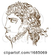 Poster, Art Print Of Emperor Nero