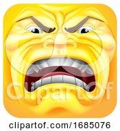 Mad Square Emoticon
