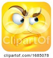 Annoyed Square Emoticon