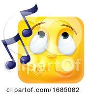 Whistling Square Emoticon