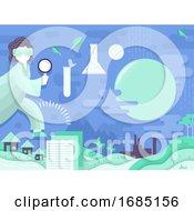 Environmental Impact Study Illustration