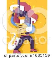 Talent Music Show Illustration