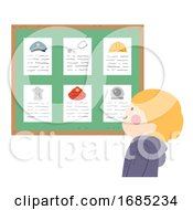 Kid Boy Career Bulletin Board Illustration
