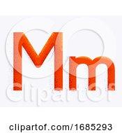 Letter Alphabet M Illustration