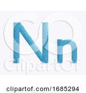 Letter Alphabet N Illustration