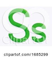 Letter Alphabet S Illustration