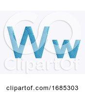 Letter Alphabet W Illustration