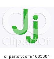 Letter Alphabet J Illustration
