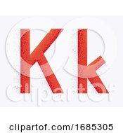 Letter Alphabet K Illustration