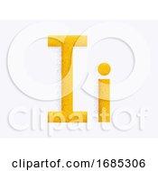 Letter Alphabet I Illustration