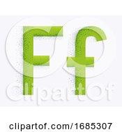 Letter Alphabet F Illustration