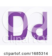 Letter Alphabet D Illustration