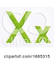 Letter Alphabet X Illustration