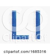 Letter Alphabet L Illustration