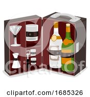 Travel Bar Illustration