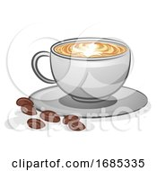 Coffee Latte Hot Illustration