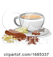 Chai Tea Illustration