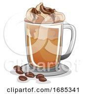 Cafe Mocha Illustration