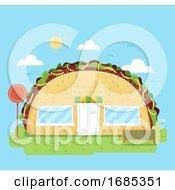 Taco Store Illustration
