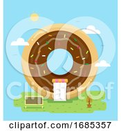 Donut Store Illustration