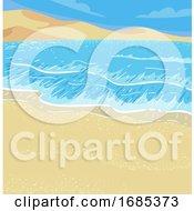 Coastal Desert Illustration