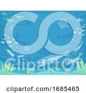 Fish Micro Plastic Illustration