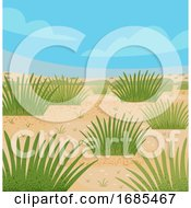 Desert Grasses Illustration