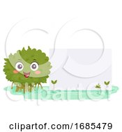 Mangrove Mascot Board Illustration