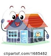 Poster, Art Print Of Mascot Printing Shop 3d Illustration