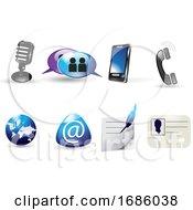 Web Icons Illustration