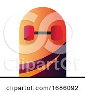 Poster, Art Print Of Vector Illustration Of A Bottom Of A Skateboard On A White Background