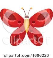Red Butterfly by Morphart Creations #COLLC1686223-0196