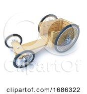 3d Wooden Go Cart Racer