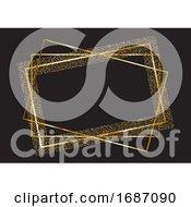 Glitter Frame Background