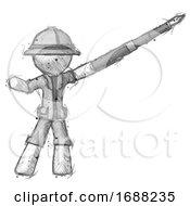 Sketch Explorer Ranger Man Pen Is Mightier Than The Sword Calligraphy Pose