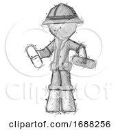 Sketch Explorer Ranger Man Pills