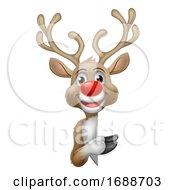 Reindeer Christmas Cartoon Character