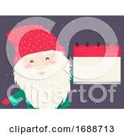 Iceland Yule Lad Calendar Illustration by BNP Design Studio