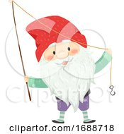 Iceland Yule Lad Meat Hook Illustration