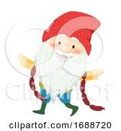 Poster, Art Print Of Iceland Yule Lad Sausage Swiper Illustration