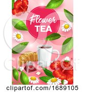 Poster, Art Print Of Tea Background
