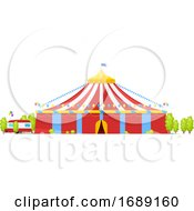 Circus Tent by Vector Tradition SM