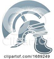 Poster, Art Print Of Roman Centurion Helmet Concept