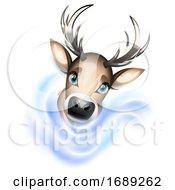 Christmas Reindeer by Oligo #COLLC1689262-0124