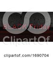 Poster, Art Print Of Black Friday Sale Background