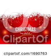 Poster, Art Print Of Christmas Sale Background
