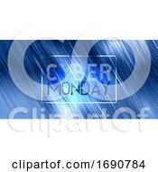 Poster, Art Print Of Cyber Monday Sale Banner Design
