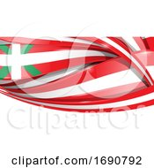 Baschi Ribbon Flag Background