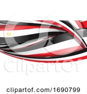Egyptian Ribbon Flag Background