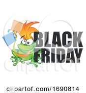 Poster, Art Print Of Black Friday Shopping Frog